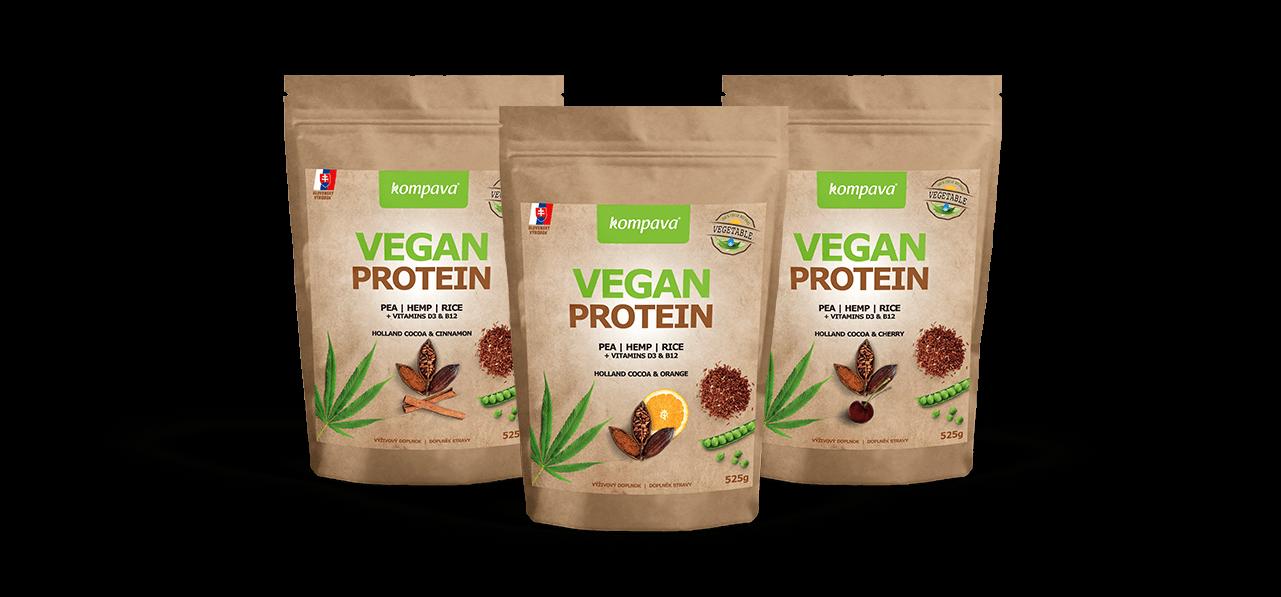 Vegan protein - Nutričné zloženie